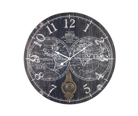 Zidni sat s njihalom Map