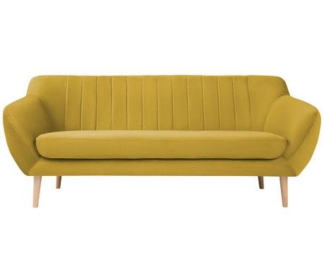 Kanapa trzyosobowa Sardaigne Yellow