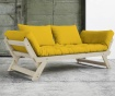 Sofa extensibila Bebop Natural and Yellow