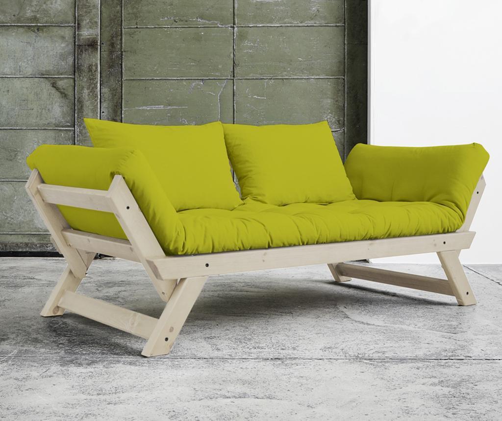 Sofa extensibila Bebop Natural and Pistachio