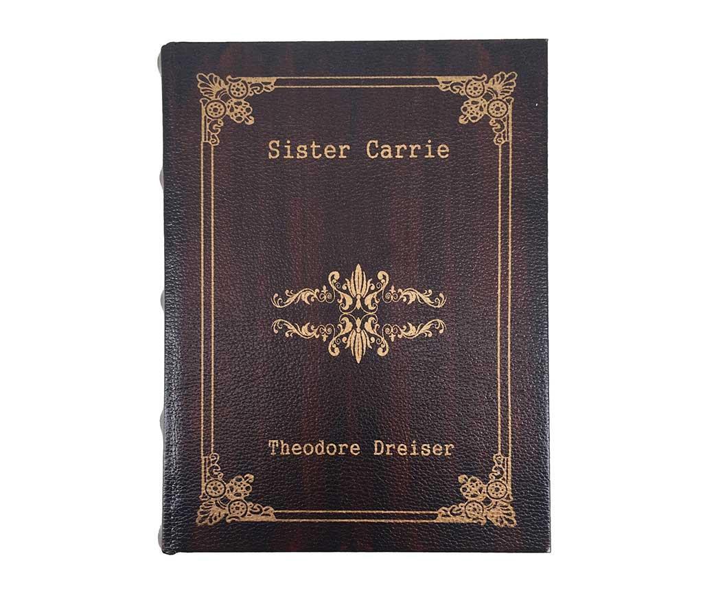 Sister Carrie 2 db Könyvdoboz