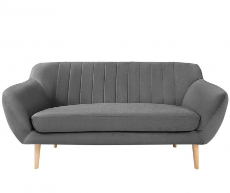 Canapea 2 locuri Sardaigne Grey