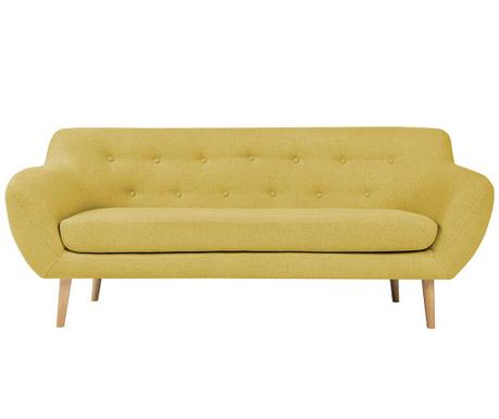 Sicile Yellow Háromszemélyes kanapé