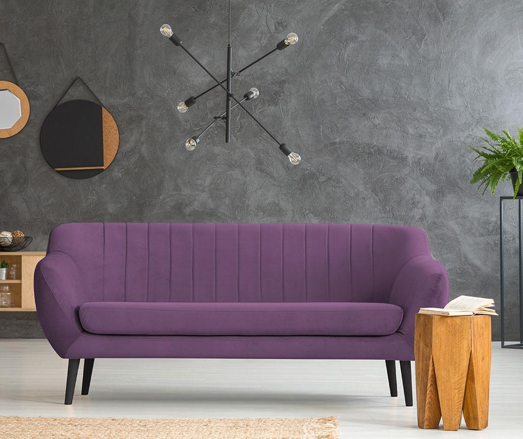 Canapea 3 locuri Toscana Purple