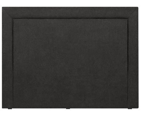 Posteljno vzglavje Ancona Black 120x160 cm