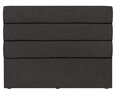 Tablie de pat Pesaro Black 120x140 cm