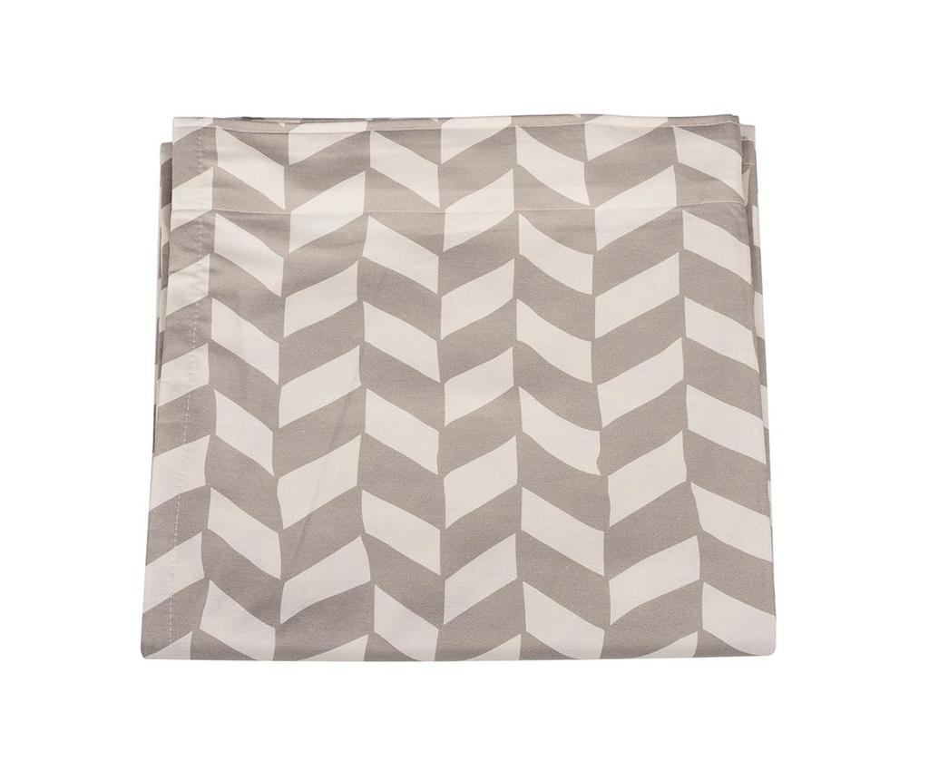 Chevron Tiles Grey Sötétítő 140x180 cm