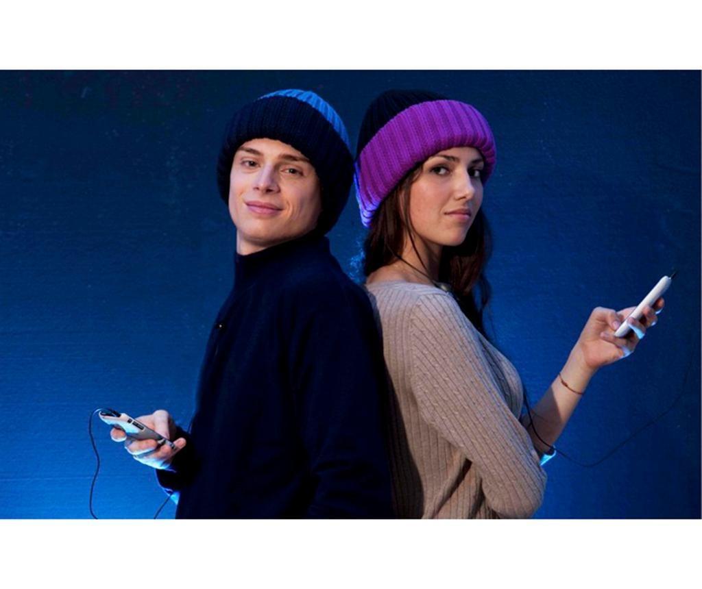 Kapa z vgrajeno slušalko hi-Hat Duo Violet