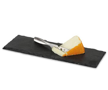 Set cutit si platou pentru branzeturi Cheesy Slate