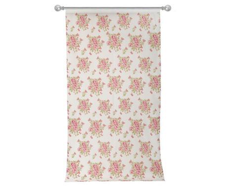 Завеса Roses White Coral 140x270 см