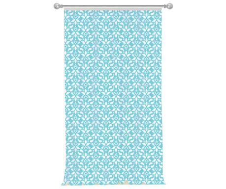 Záves Petals Blue 140x270 cm