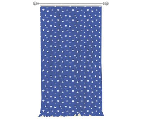 Závěs Stars Blue 140x270 cm