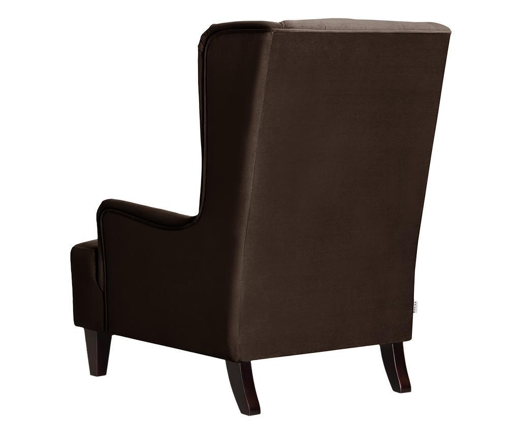 Flanelle Dark Brown Fotel