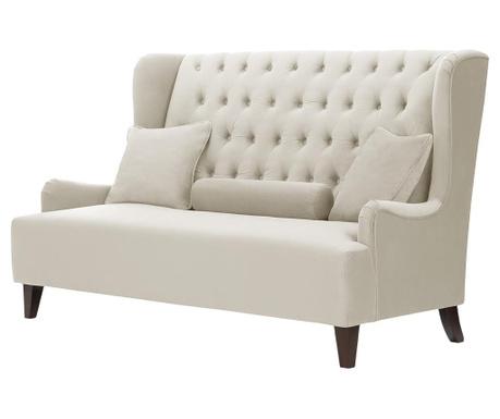 Canapea 2 locuri Flanelle Cream