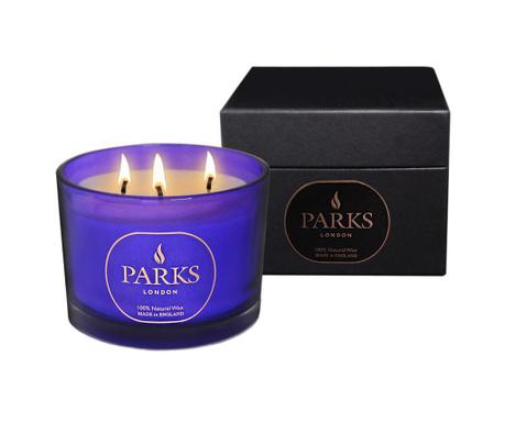 Dišeča sveča s 3 stenji Parks Moods Camomile & Orris