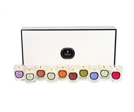 Set 10 dišečih sveč Parks Aromatheraphy Gift