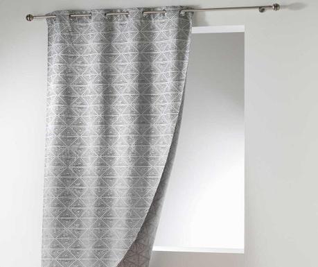 Zasłona Triane Grey 140x260 cm