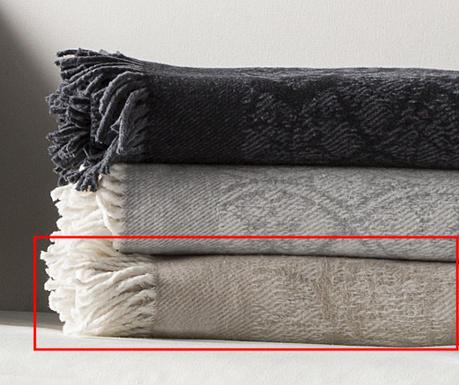 Pokrivač Eus Beige 130x170 cm