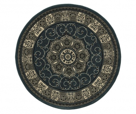 Preproga Heritage Dark Blue Circle 150 cm