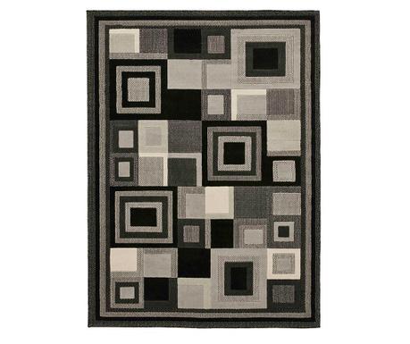 Koberec Hudson Black Grey