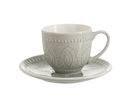 Set skodelica in krožniček Tabitha Grey