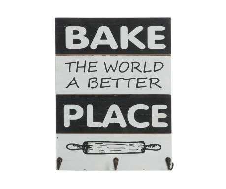 Стенна декорация Bake the World a Better Place
