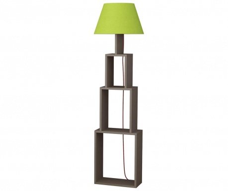 Podlahová lampa Tower  Light Mocha Green
