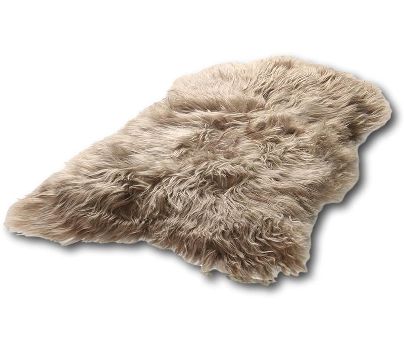 Preproga Sheep Iceland Taupe 60x90 cm