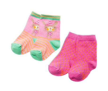 Set 2 para čarapa Dotted Bunny
