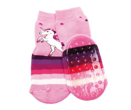 Чорапи с нехлъзгаща се подметка Unicorn