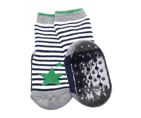 Чорапи с нехлъзгаща се подметка Star