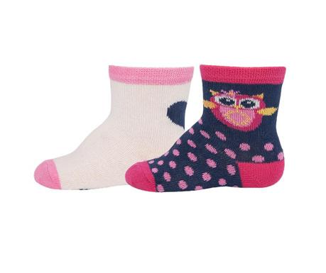 Set 2 para čarapa Owl