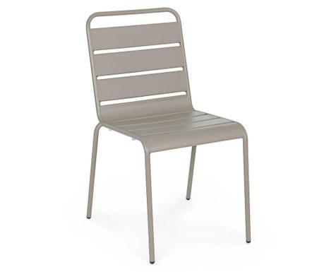 Venkovní židle Kermit Taupe