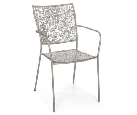 Krzesło zewnętrzne Daffodil Taupe