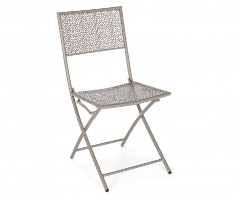 Venkovní skládací židle Kennen Taupe