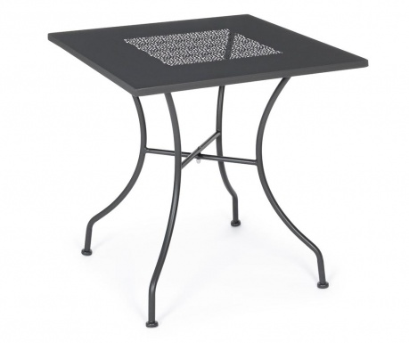Vrtna miza Kayden Dark Grey