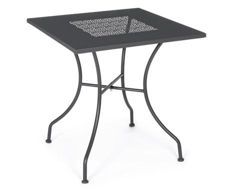 Stôl do exteriéru Kayden Dark Grey