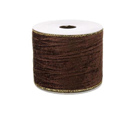 Ribbon Gold Burgundy Dekoratív szalag