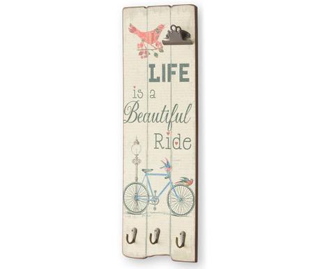 Life Is Fali dekoráció