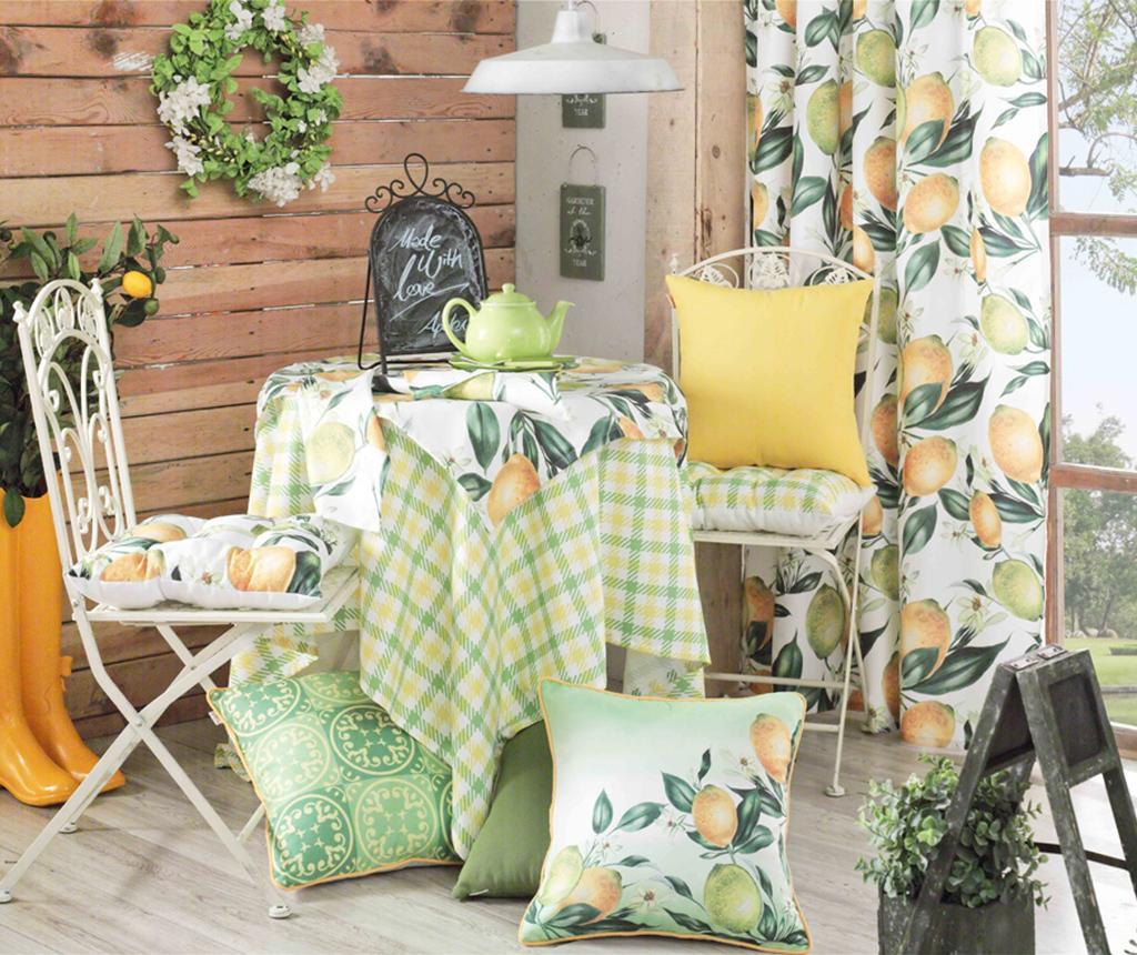 Polštář na sezení Lemons 37x37 cm