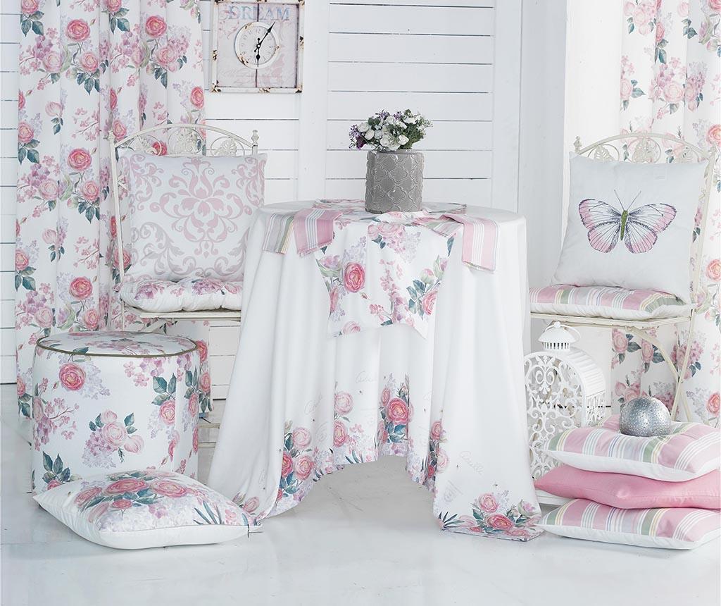 Vankúš na sedenie Summer Flowers 43x43 cm