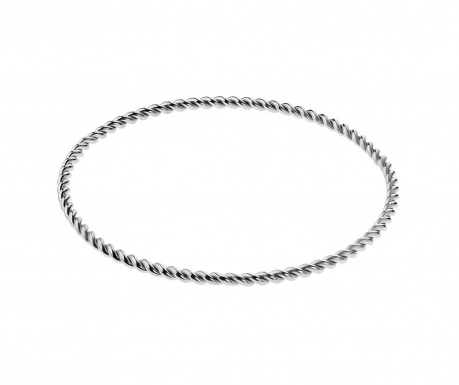 Гривна Swirl Silver
