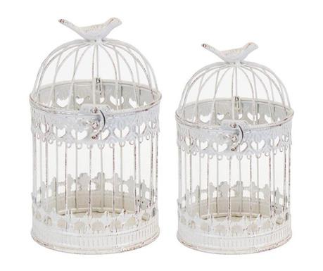 Set 2 lantern Fawn