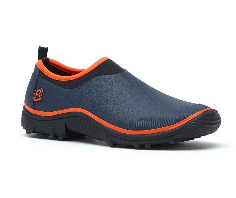 Pantofi sport dama Trial Navy Blue and Orange 36