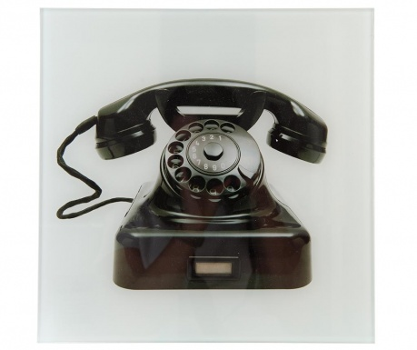 Tablou Telephone 30x30 cm