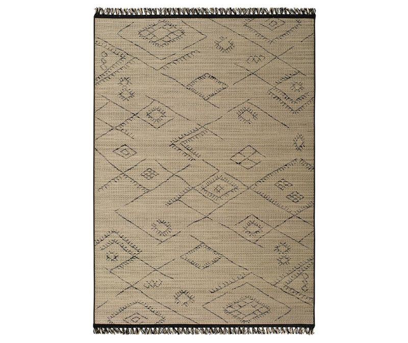 Covor tip pres Amina Patches Beige 120x170 cm