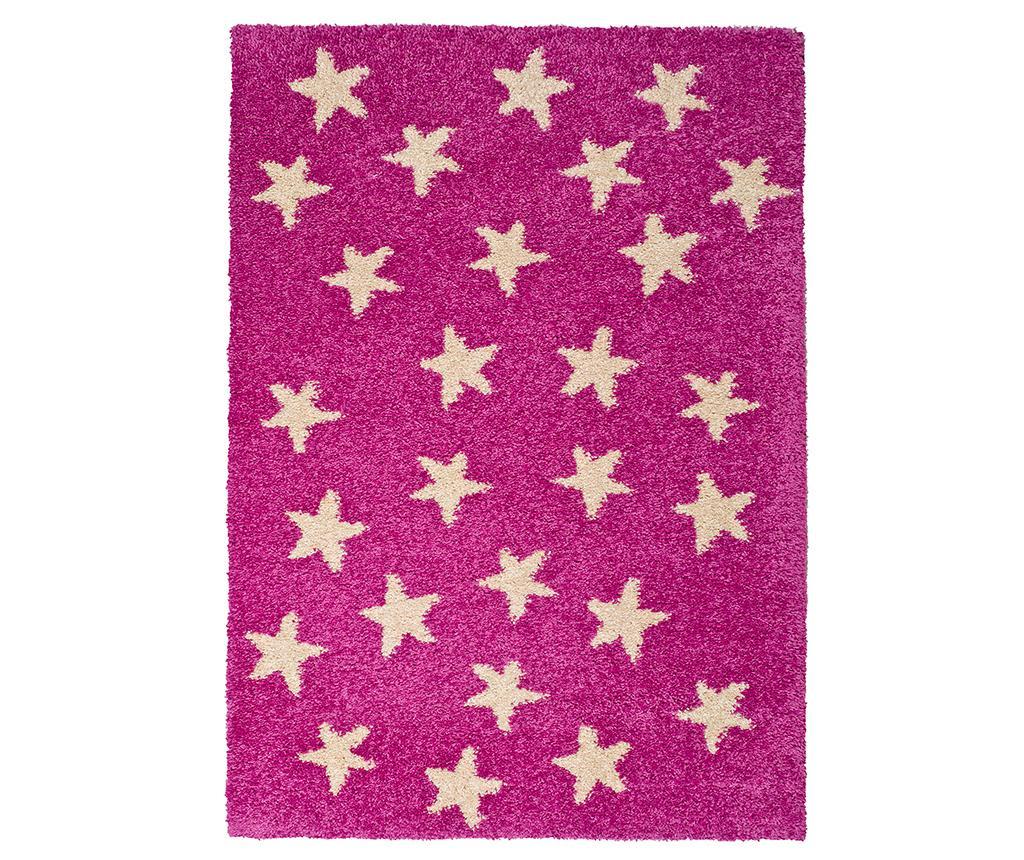 Cuore Stars Pink Szőnyeg 100x150 cm