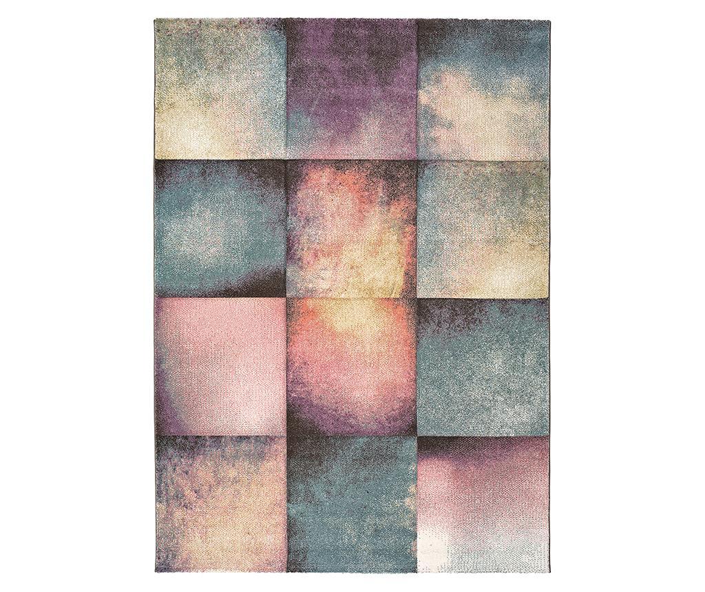 Covor Pinky Squares 80x150 cm