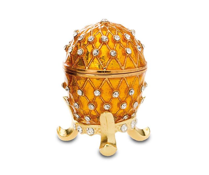 Cutie decorativa Crown Yellow