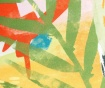 Perna decorativa Leaf 45x45 cm